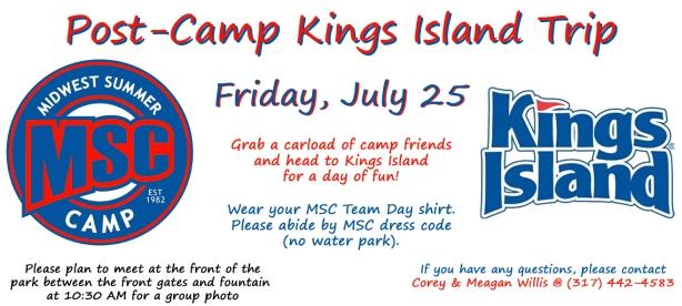 MSC Kings Island Flyer 2014