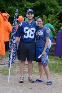 David & Katie Mathis Team Blue