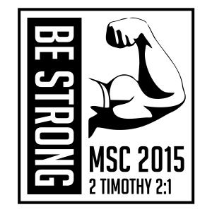 2015 MSC Be Strong Logo