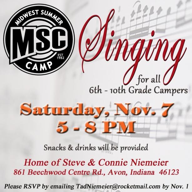 MSC Singing Nov 2015