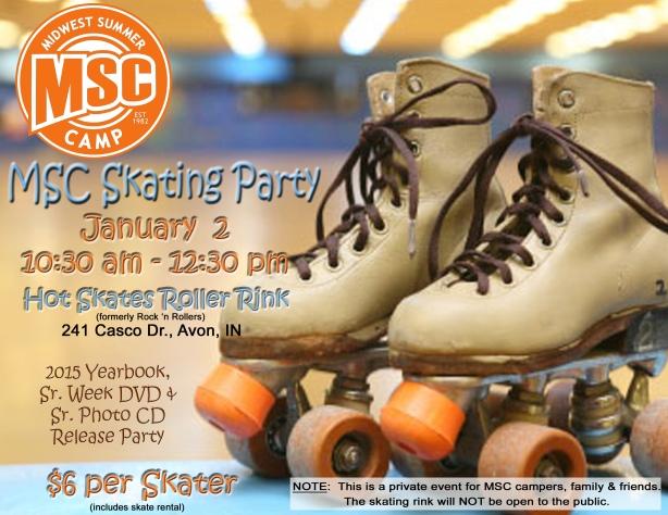 MSC Skating Party 2016