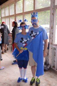 Team Blue -- Eric & Sarah Mizell