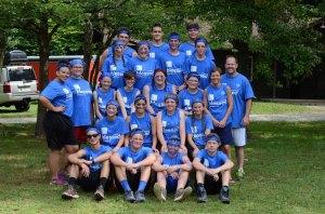 Blue Team, led by Eric & Sarah Mizell